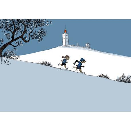 La Descente du Mont Ventoux