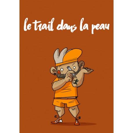 Le Trail dans la peau - orange
