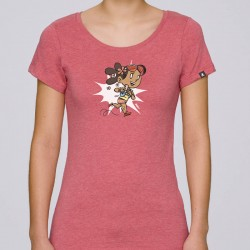 Collection POP ! T-Shirt POP Run Femme