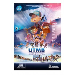 My UTMB // Affiche Collector DBDB 2019