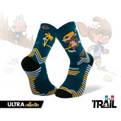 Chaussettes TRAIL ULTRA bleu - Collector DBDB