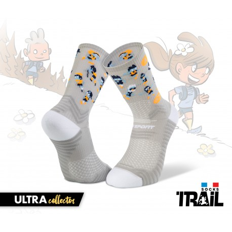 Chaussettes TRAIL ULTRA gris- Collector DBDB