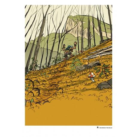 Trail en Chartreuse