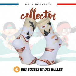 Chaussettes TRAIL ULTRA neige blanc - Collector DBDB