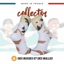 Chaussettes TRAIL ULTRA Neige blanche - Collector DBDB - Wave 2