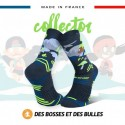 Chaussettes TRAIL ULTRA Foret grise - Collector DBDB - Wave 2