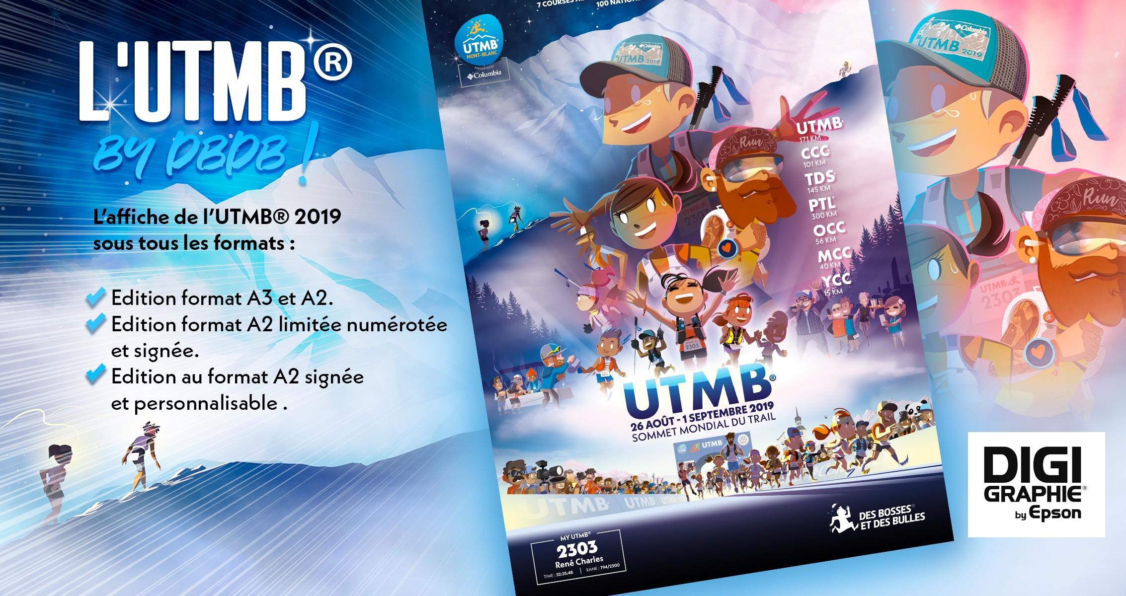 L'UTMB par DBDB